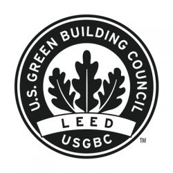 LEED Certified Platinum seal