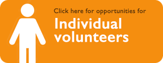 Individual and weekly volunteering