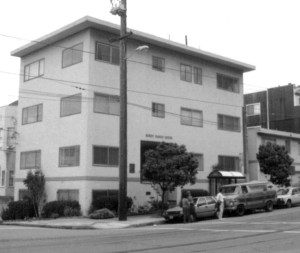 The original Family House location at 50 Irving Street in San Francisco